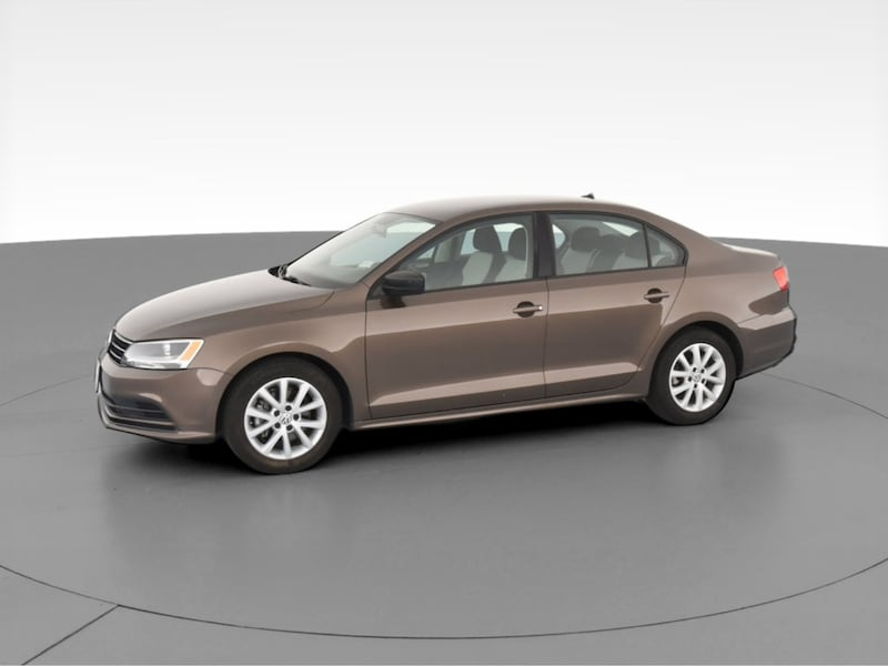 2015 VW Volkswagen Jetta sedan 1.8T SE Sedan 4D Brown  f11483b9-57cd-44c8-8759-bab1afdead2d