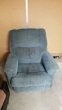 gray fabric recliner sofa chair Concord, 94521