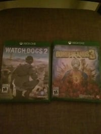 Watch Dogs 2 And Borderlands 3. Xbox One. Cambridge, N1S 4R8