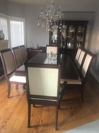 Solid wood 12pc dining room set