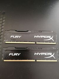 16gb Kingston HyperX FURY DDR3 1866Mhz CL10 Ram