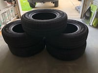 """29"""" Jeep Wrangler tires (5 total) Chapin, 29036"""