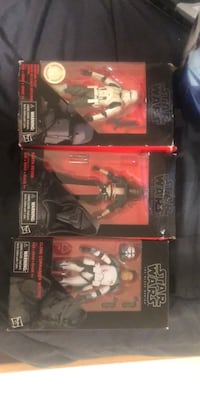 Two star wars action figures black series 25 each or 50 for all three Woodbridge