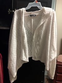 xs white hooded cardigan Toronto