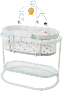 Fisher Price Soothing Motion Bassinet  Toronto, M9W
