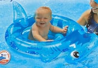 Inflatable baby float swim-line blue Brand new