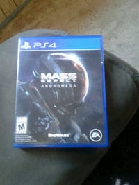 Mass Effect Andromeda PS4 game case Capital, V9C