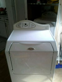 white front-load clothes washer College Park, 20740