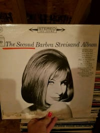 Barbra Streisand the second vinyl Chantilly, 20152