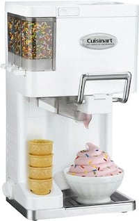 NEW CuisineArt soft serve ice cream maker