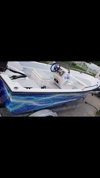 White and blue motor boat screenshot Miami, 33177