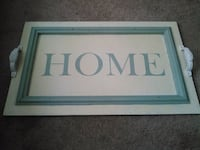 """Home"" Tray Knoxville, 37923"