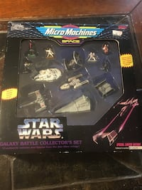 Limited edition star war micromachines collector set Moreno Valley, 92553
