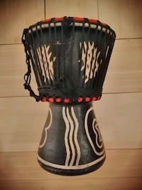 Small authentic African drum