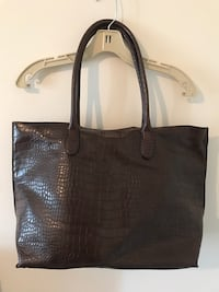 H&M Faux Snakeskin Oversized Tote Mississauga, L5M