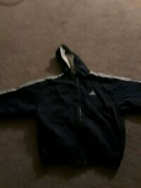 black zip-up hoodie Jackson, 08527