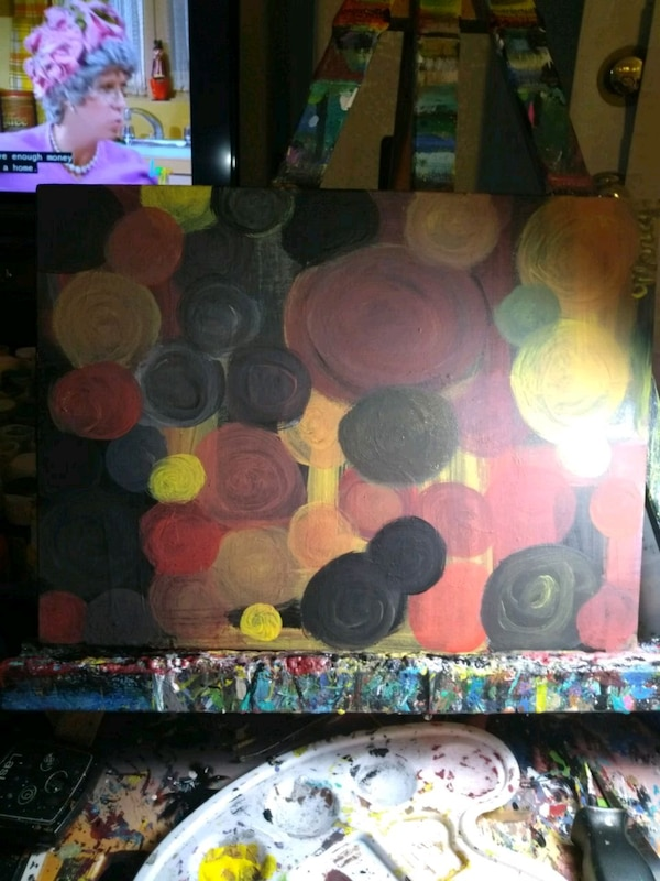Abstracts by marcy 9x12