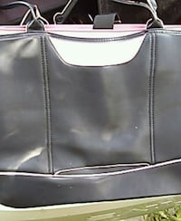 Black leather and Pink suede lap top / file organi Hendersonville, 28791
