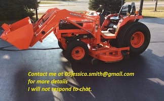 2001 Kubota B2710HST 4x4 tractor only 320 hours on the meter.VERY CLEAN, GREAT ALL AROUND MACHINE. RUNS AND OPERATES AS IT SHOULD
