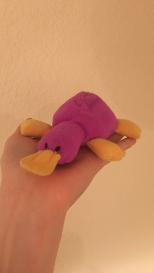 Used Purple Platypus Beanie Baby TY™ for sale in San Jose - letgo 8767c479397