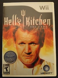 Nintendo Wii Hell's Kitchen the Game Vaughan, L4L