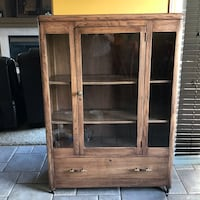 Vintage Glass Display Cabinet circa 60s Edmonton, T5X 6G1