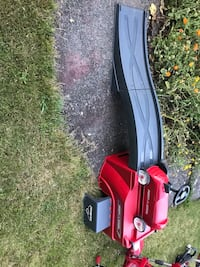 red and black push mower Kenmore, 98028