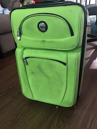 Lime Green Carry On Suitcase Bag Washington, 20024