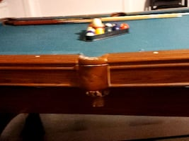 Pool table open to offers