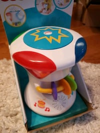 Fisher Price 2-in-1 musical drum roll Toronto, M3M 2L8