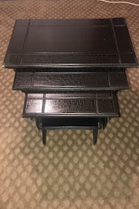 3 Piece Black Nesting Tables Dearborn Heights, 48125