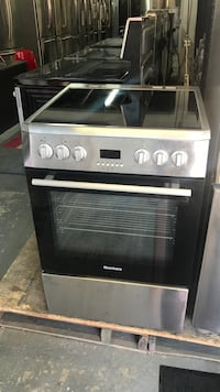 stainless steel and black gas range oven Toronto, M6H