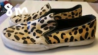 brown and black leopard print slip-on shoes Halifax, B3H 4M2