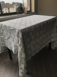 Kitchen table with floral table cloth Alexandria, 22302