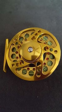 gold steel fishing reel Sheboygan, 53081