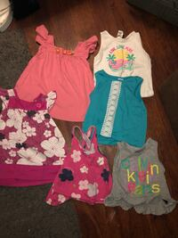 3t toddler girls clothes-32 pieces