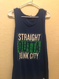Straight Outta Dunk City Tank Top Fort Myers, 33919