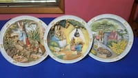 Peter Rabbit Musical Plates $20 EACH  Portland, 97206