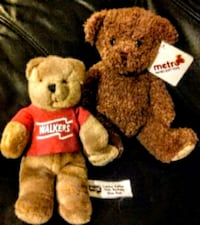 Limited edition walkers teddy's