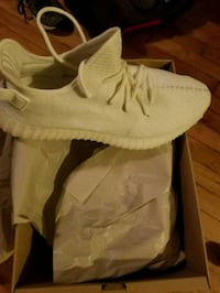 pair of white Adidas Yeezy Boost 350 Morningside, 20746