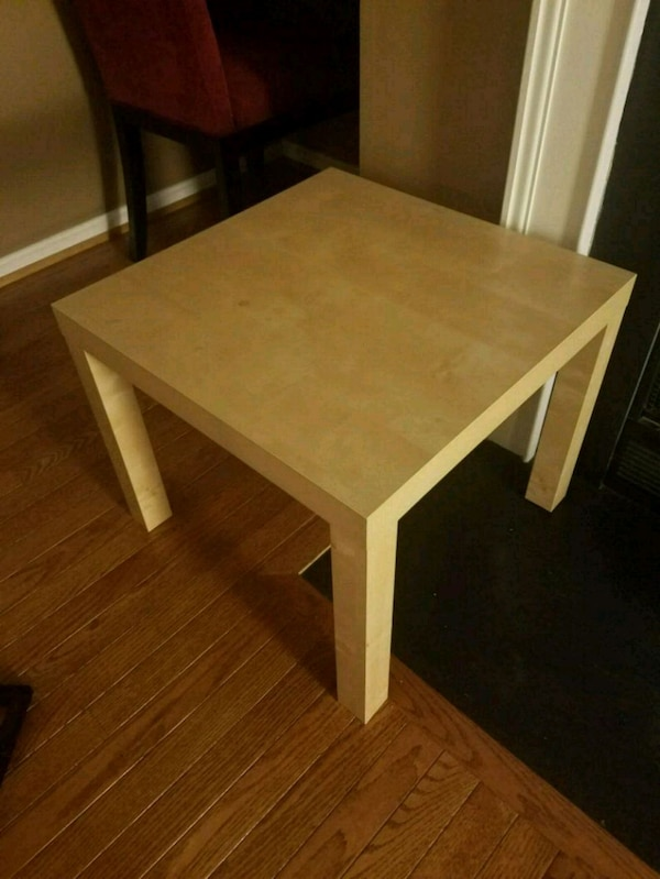(2) Square Ikea Side Tables