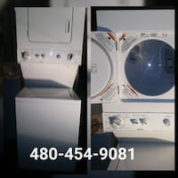 Washer and dryer combo. Comes with 30day warranty  Phoenix, 85015