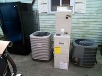 2 ton straight ac. 410a  system