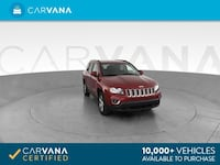 2017 Jeep Compass suv High Altitude Edition Sport Utility 4D Red