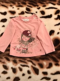 Cute Girls Long Sleeves Shirt with 3D Appliqué Farmington Hills, 48336
