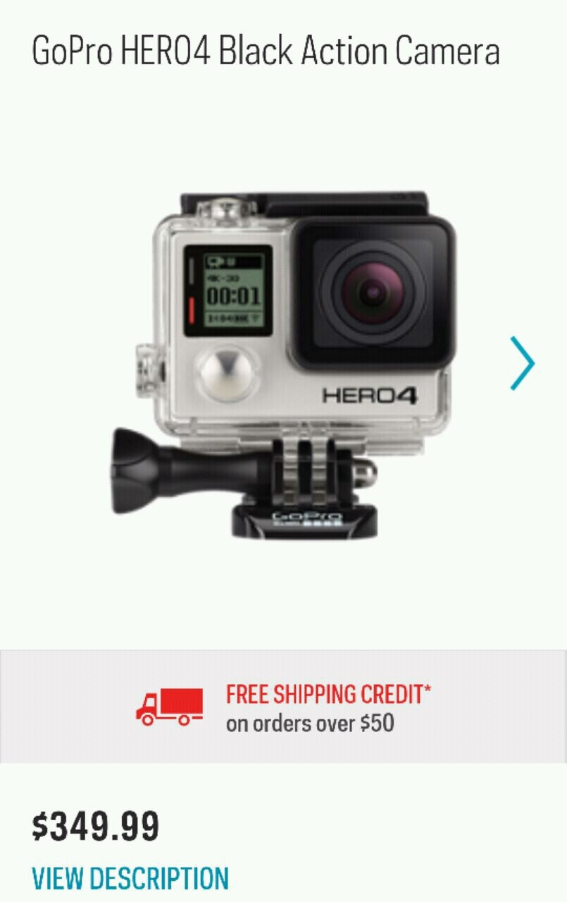 gray GoPro Hero action camera, used for sale  Burnaby