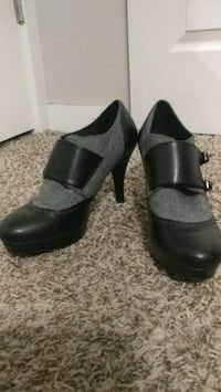 Size 11 Buckle Strap High Heels Norman, 73069