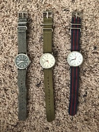Set of 3 Timex watches  Lorton, 22079
