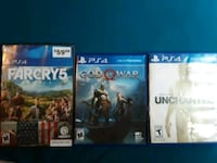 3 like new ps4 games Buford
