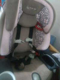 Toddler booster car seat strong with steel rods